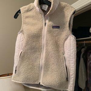 Patagonia Fleece Vest Off-White Size M